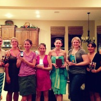 July 2013 Pool Party Book Club Photo!